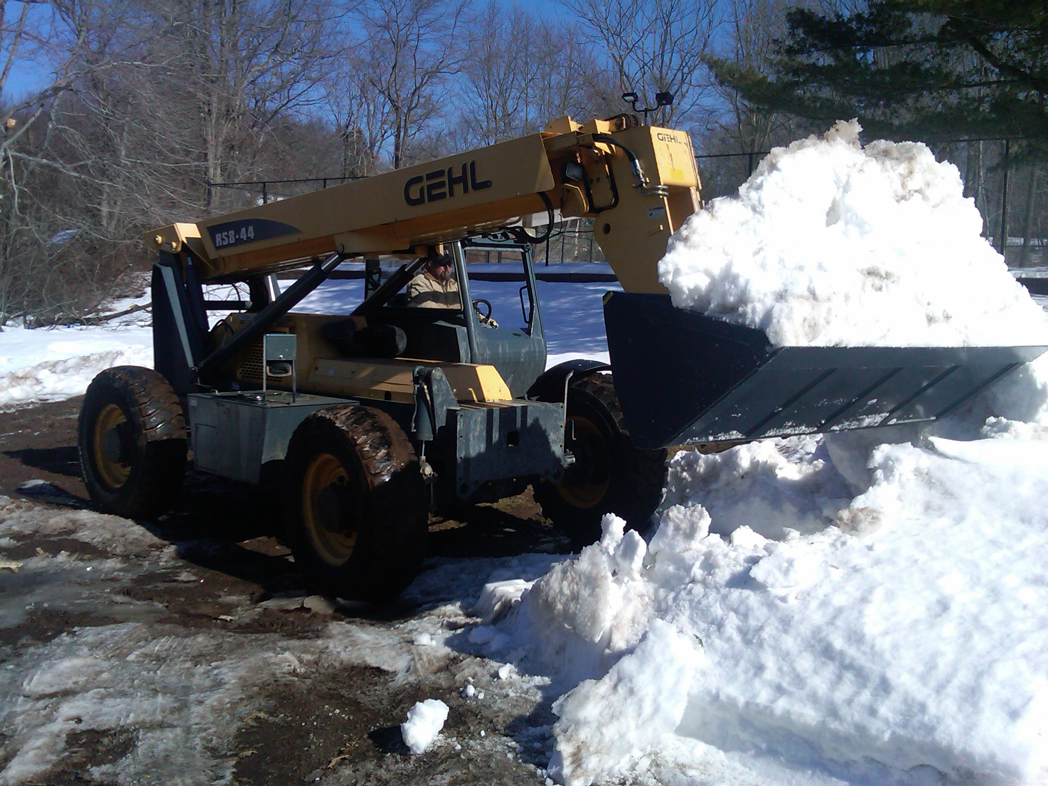 Connecticut snow removal services
